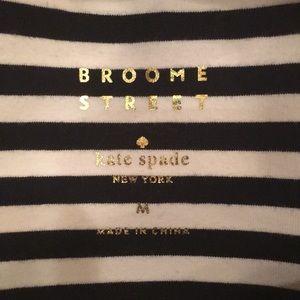 Kate Spade dress black and white stripes
